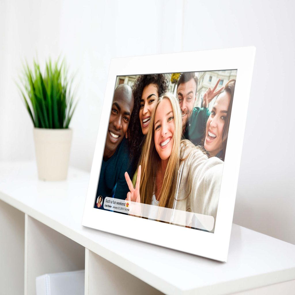 Kiki&Co digital photo Frame White Fun Weekend