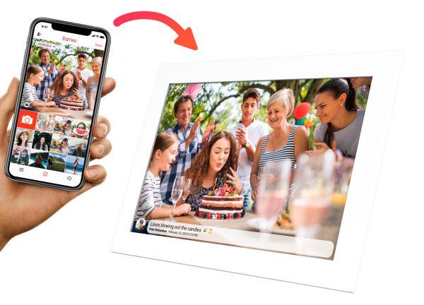 Kiki&Co Phone send to Frame